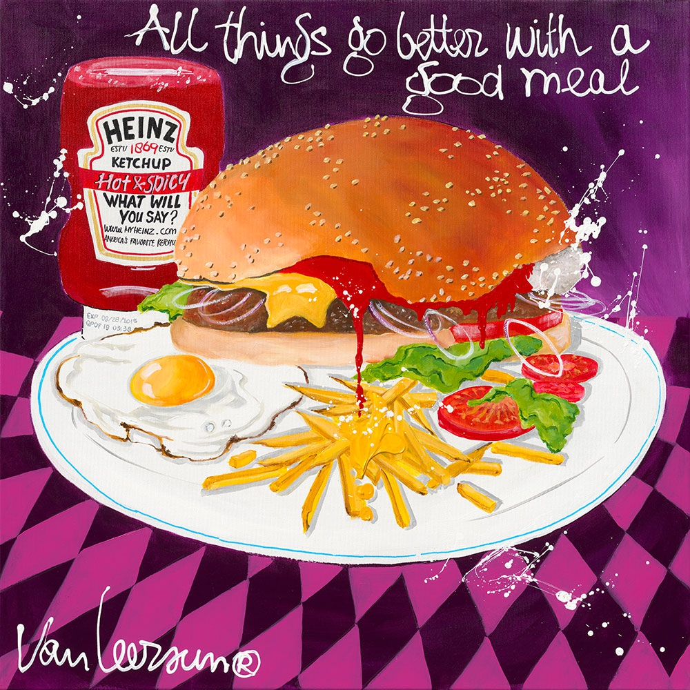 All things go better with a good meal 70x70