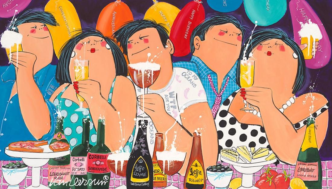 Dikke Dames 'Congrats' 70x140