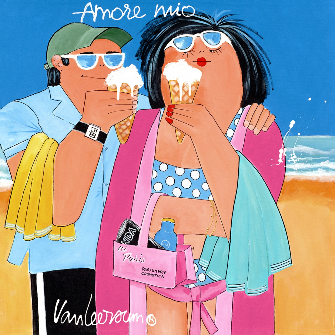 Amore Mio 70x70