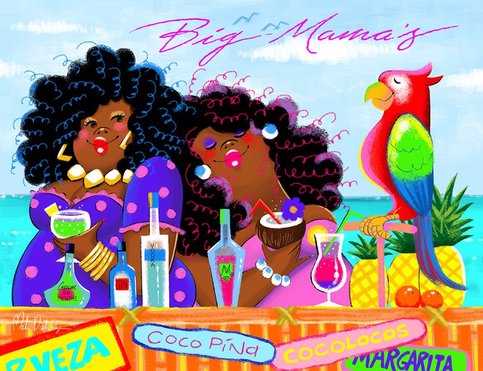 Big Mama's Beach Bar 85x113