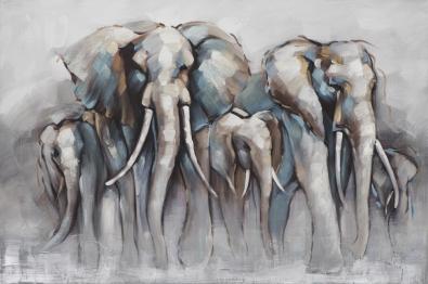 Olifant schilderij 100x150