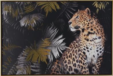 Schilderij luipaard 82x122