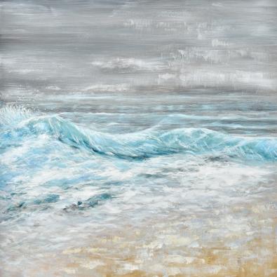 Schilderij zeegezicht 100x100