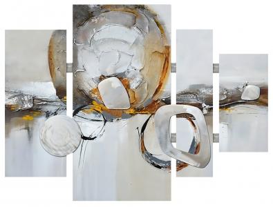 4 luik modern cirkel 74x109