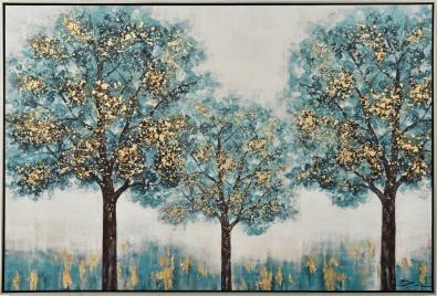 Schilderij bomen 92x122