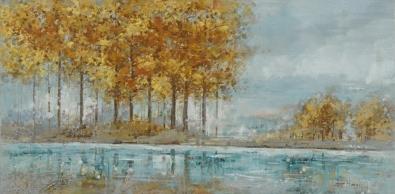 Schilderij landschap70x140