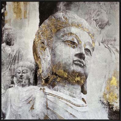 Schilderij boeddha 102x102
