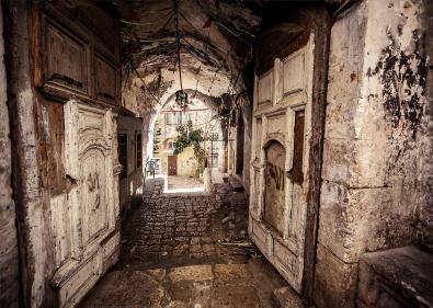 Corridor op glas 70x100