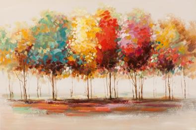 Schilderij bomen 80x120