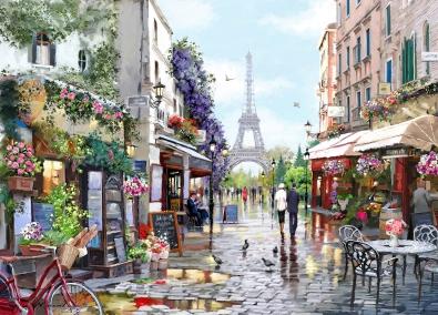 Colorful Paris 75x100