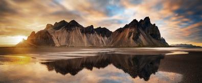 Fotokunst berglandschap 60x150