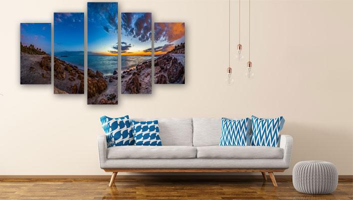 5 delig schilderij foto kunst