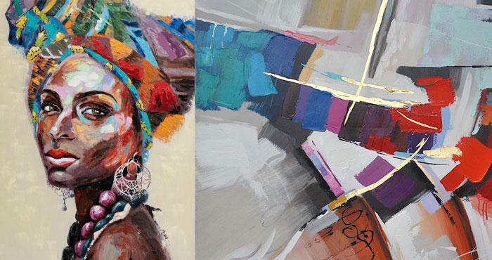 olieverf vrouw schilderij