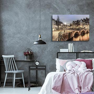 Muur Plank Voor Schilderijen.Interieur Blog