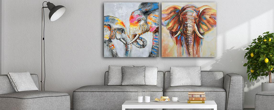 Schilderij natuur
