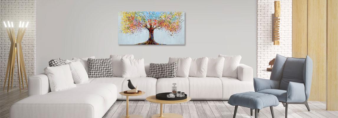 Schilderij ophangen