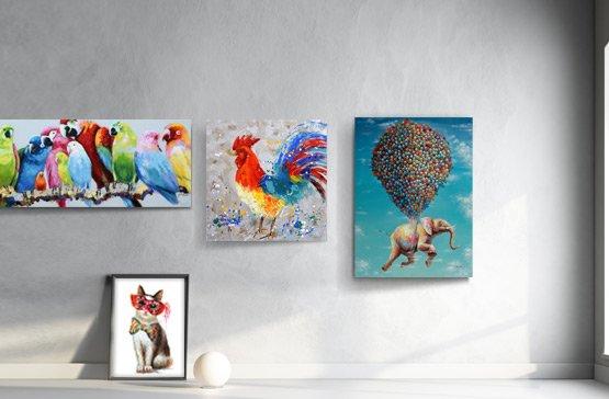 Schilderijen kopen doe je betaalbaar online bij Schilderijenshop