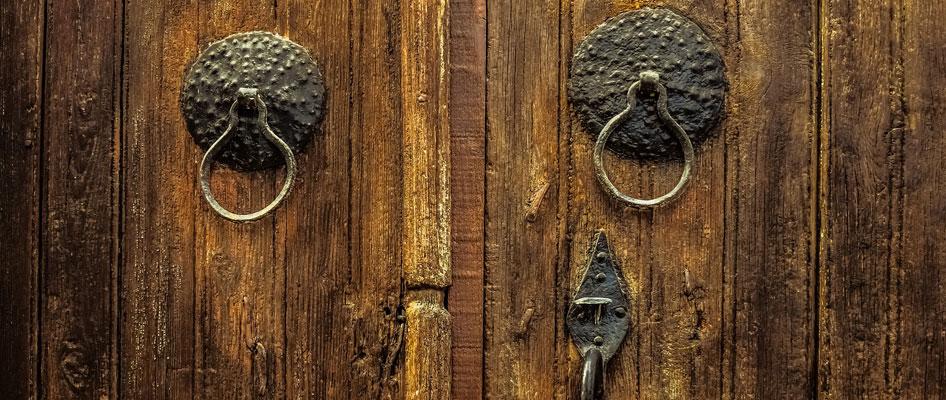 deur landelijk interieur