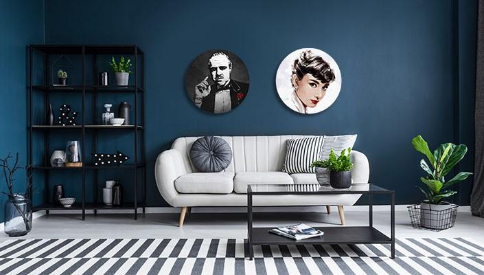 ronde schilderijen