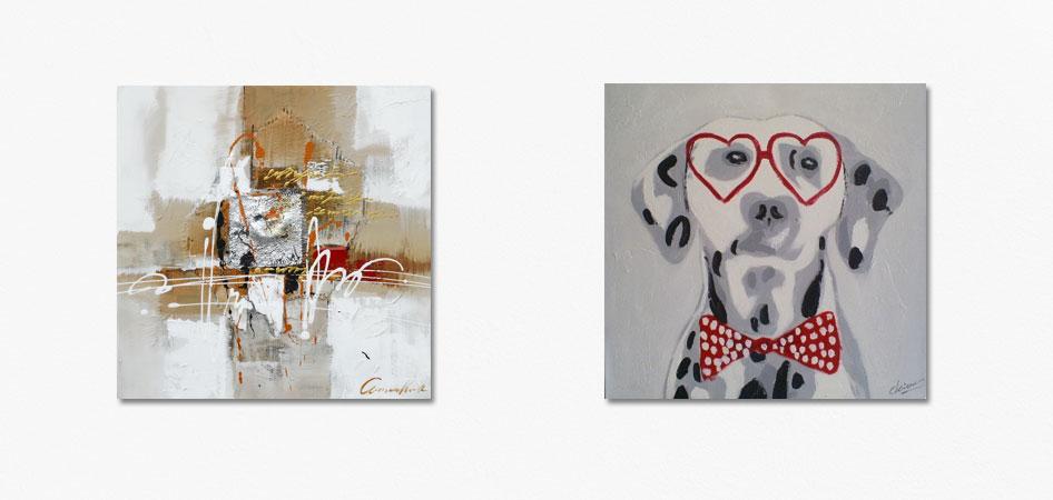 schilderijen tot honderd euro