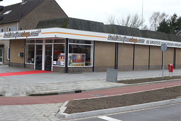 showroom Geldrop buiten