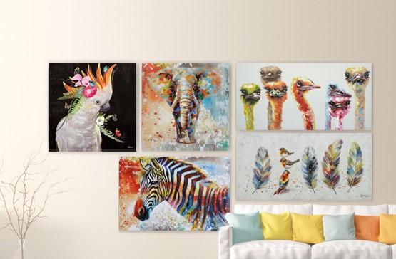Dieren schilderijen