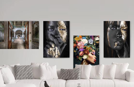 Glas schilderijen