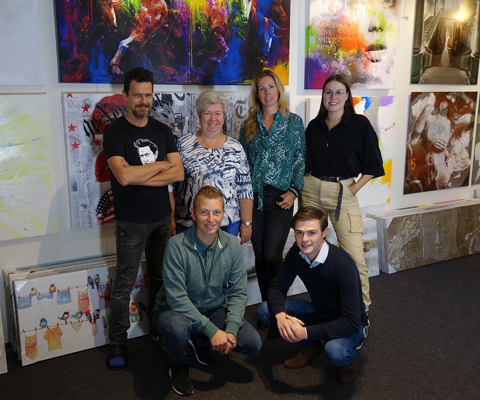 Schilderijenshop Team