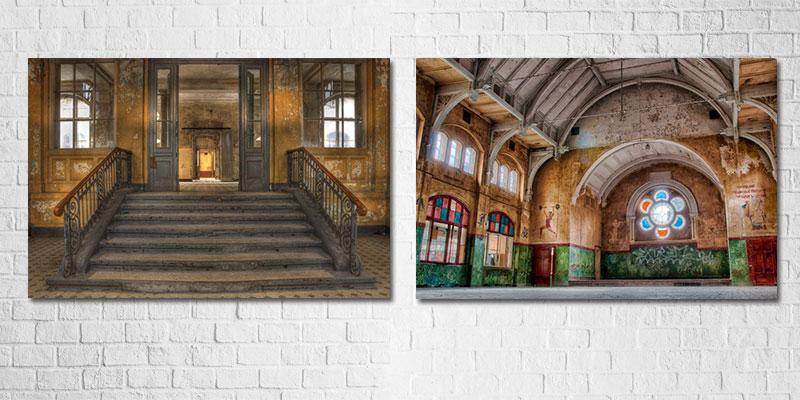 schilderijen met steden