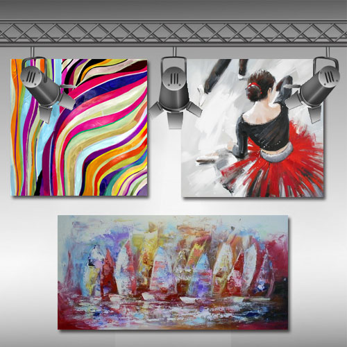 nieuwe schilderijen