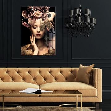 schilderij boven bank