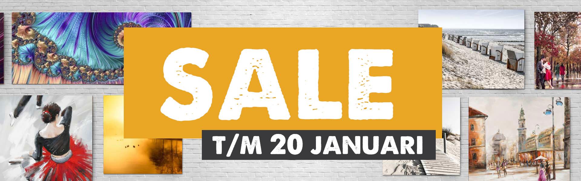 Schilderijen Sale 20 januari