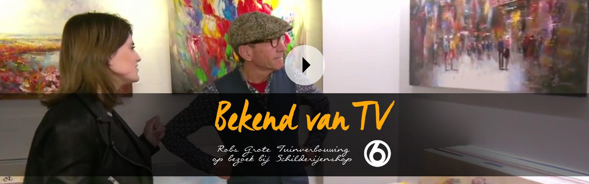 Schilderijen bekend van TV